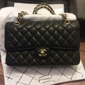 Chanel double flap bag